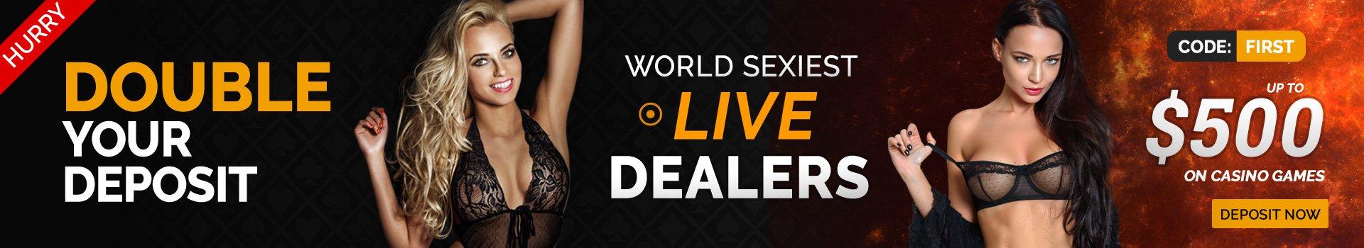 PornHub Live Casino Sexy Dealers